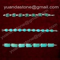 Natural turquoise bracelets (YD267)