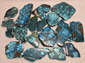 Natural turquoise polished rough slab YD102