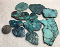 Natural turquoise rough slab YD103