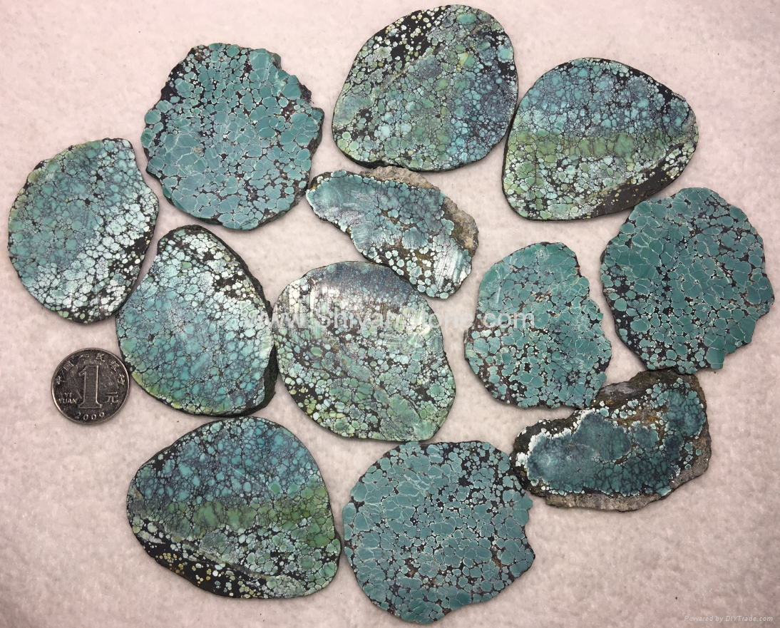 Natural turquoise rough slab YD106