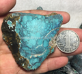 Natural turquoise rough stone YD109