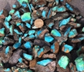 Natural blue Hubei turquoise slab YD102