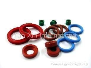 橡膠O形圈環迫緊華司 1