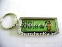 Keychain with flash picture or Logo