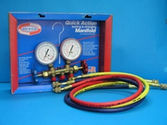 Pressure Charging and Testing Gauge