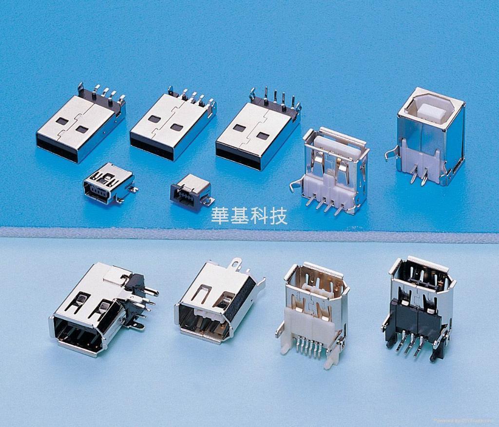 MINI USB CONNECTOR MALE