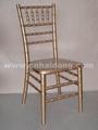金色竹节椅