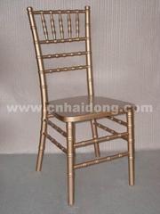 金色竹節椅