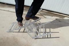透明亞克力水晶色樹脂竹節椅