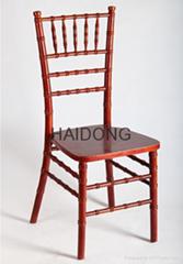 HDW-CV-U05 Mahogany Wooden Chiavari Chair