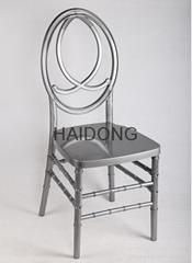 淺金色樹脂鳳凰椅