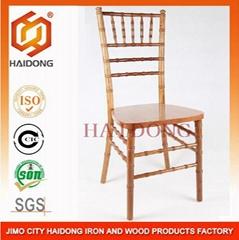 Natural Color Solid Wood Chiavari Chair