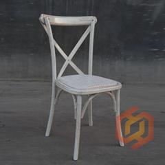 木製叉背餐椅