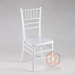 白色竹節椅