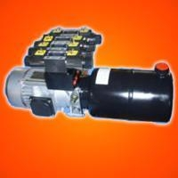 hydraulic power pack with 5 valve for tyre changer