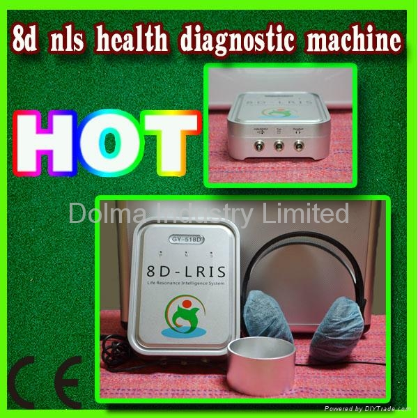 8D-LRIS NLS Device health analyzer