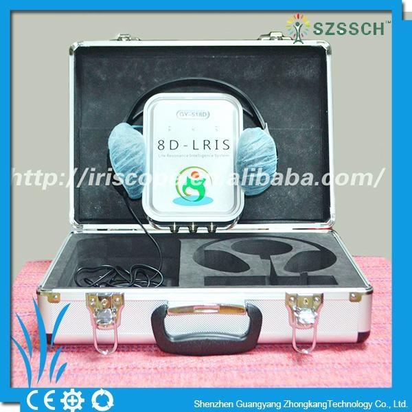 西班牙语版本矢量8D LRIS NLS全身细胞分析仪扫描设备 2