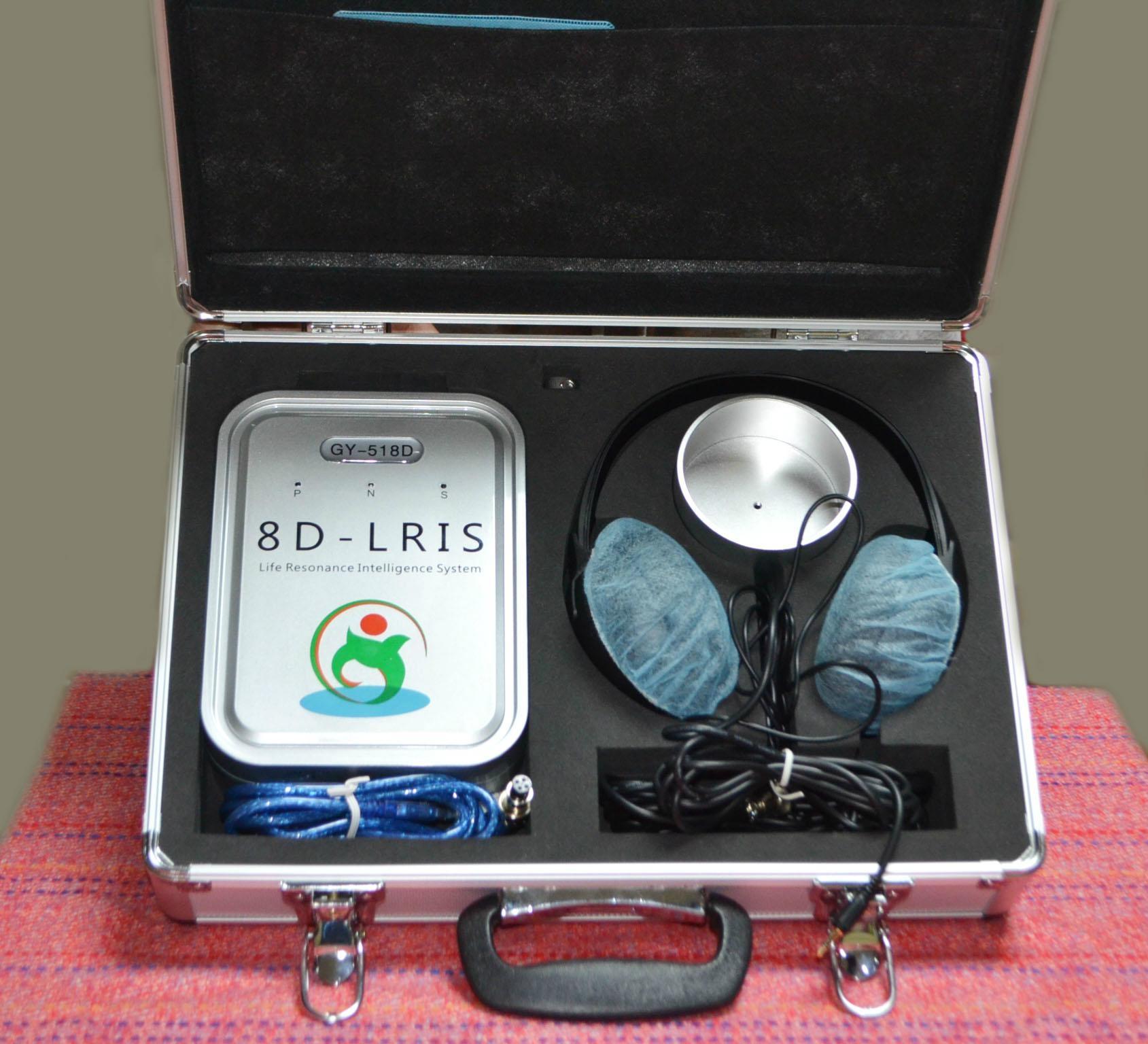 西班牙語版本矢量8D LRIS NLS全身細胞分析儀掃描設備 8