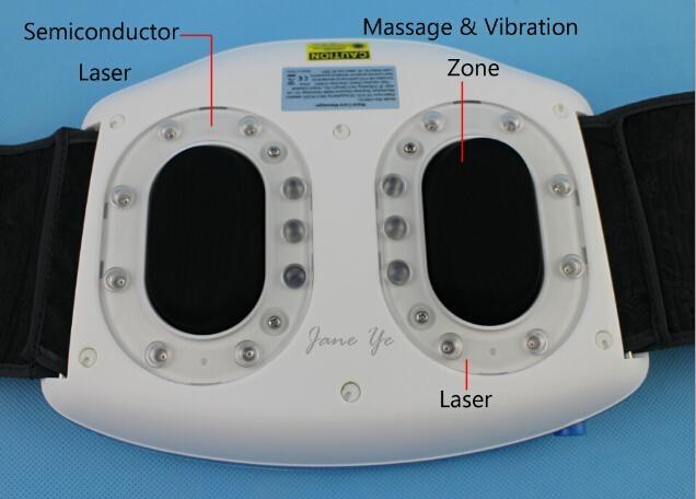 Promotional Waist Slimming Belt/ Waist Care Laser Massager / Waist Massager 2