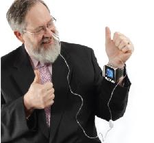 热卖电子血压高激光治疗手表