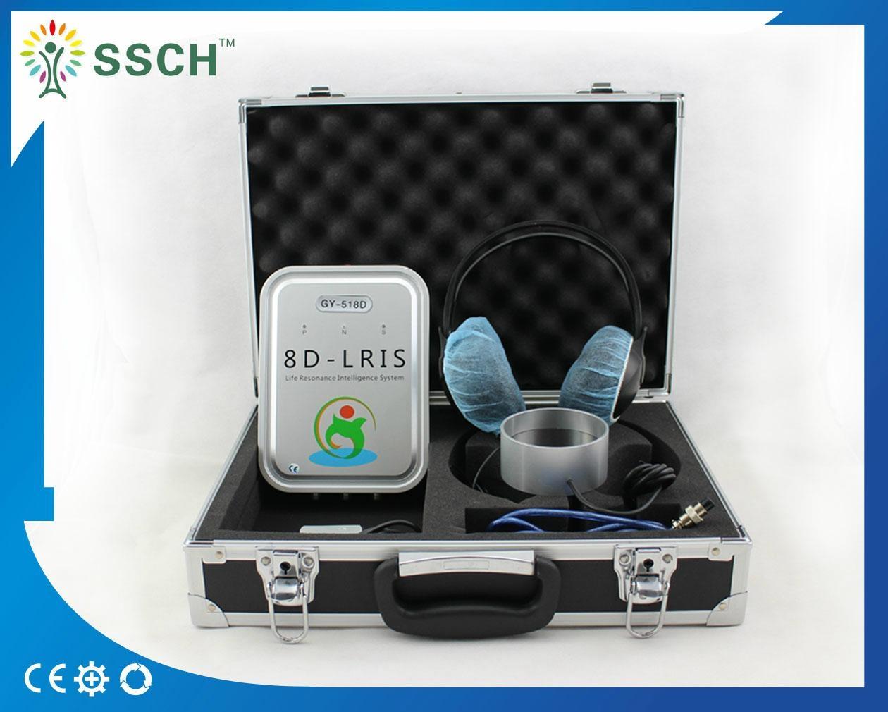 高級塔特隆8D9D NLS全身健康分析儀 6