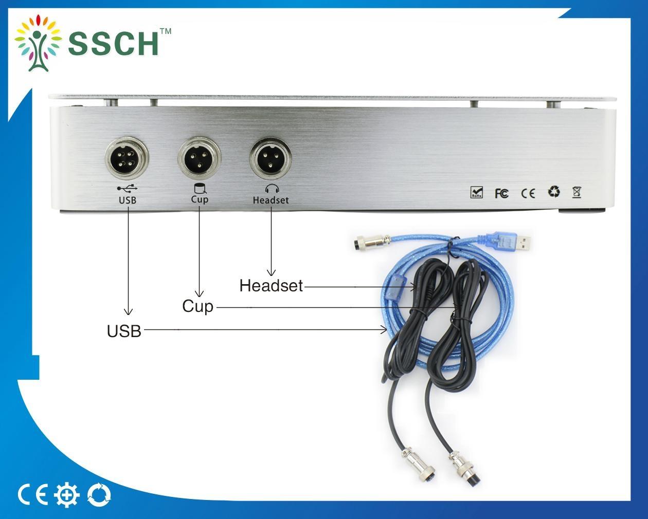 高精度NLS Metranon4025亨特临床医疗设备的智能自动全身健康设备 8
