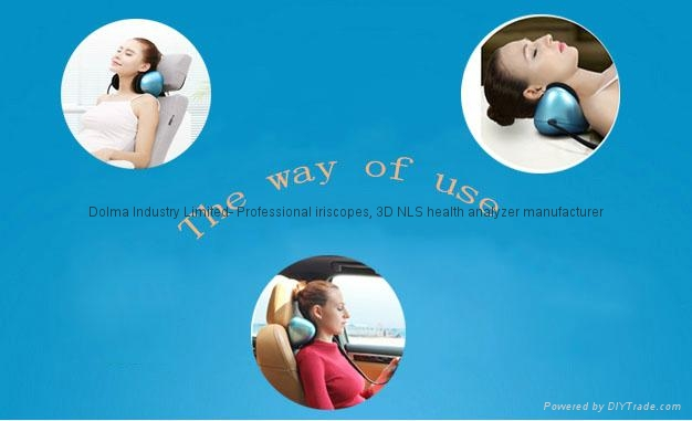 Health Care Heating Lower Back Pain Relief Car Home Dual-use Massager Kneading  9
