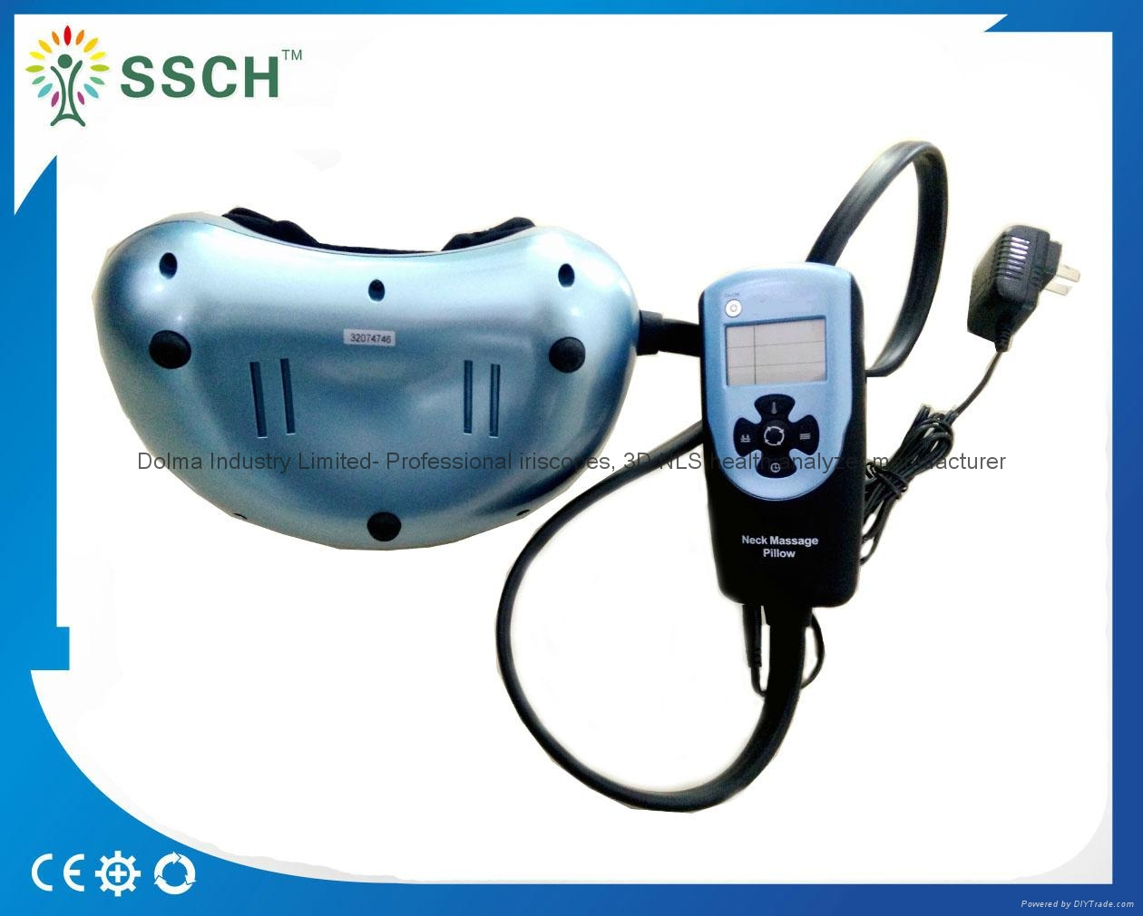 Health Care Heating Lower Back Pain Relief Car Home Dual-use Massager Kneading  14