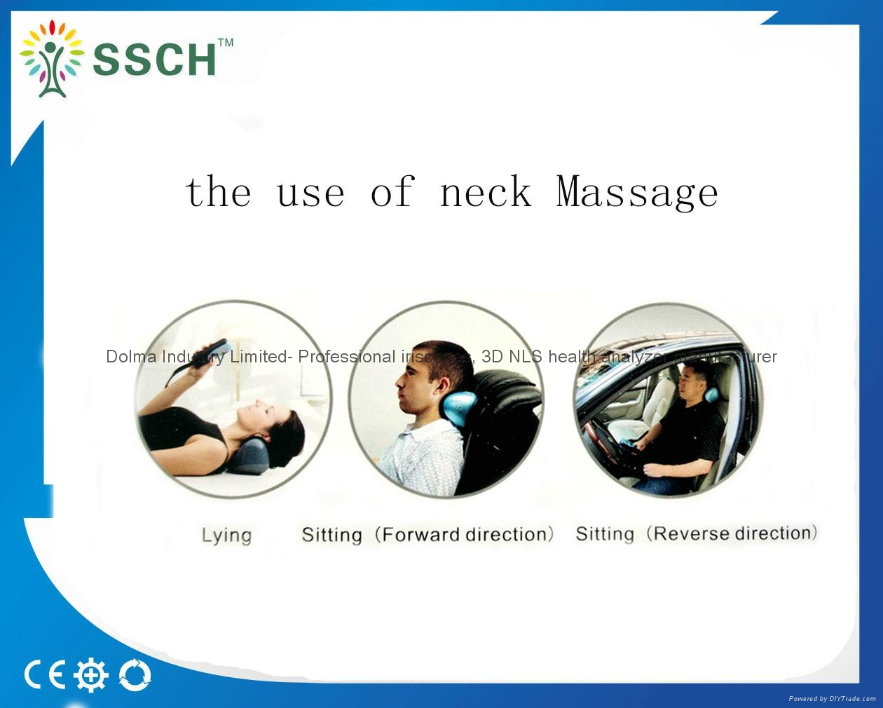 2016 latest Neck Massage Pillow from chinese factory 7
