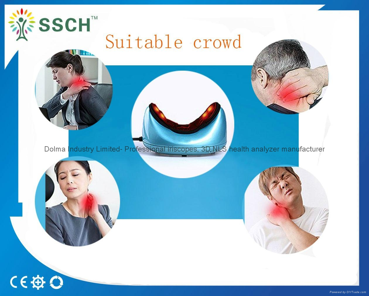 2016 latest Neck Massage Pillow from chinese factory 19