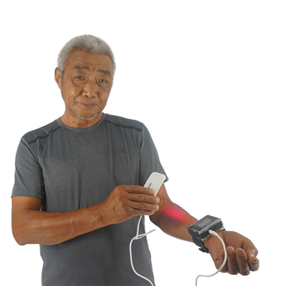 laser acupoint therapy medical wrist watch