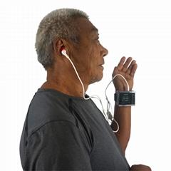 腕部激光观赏红蓝光治疗高血压和癌症