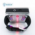 Blood irradiation and blood circulation laser watch therapy device