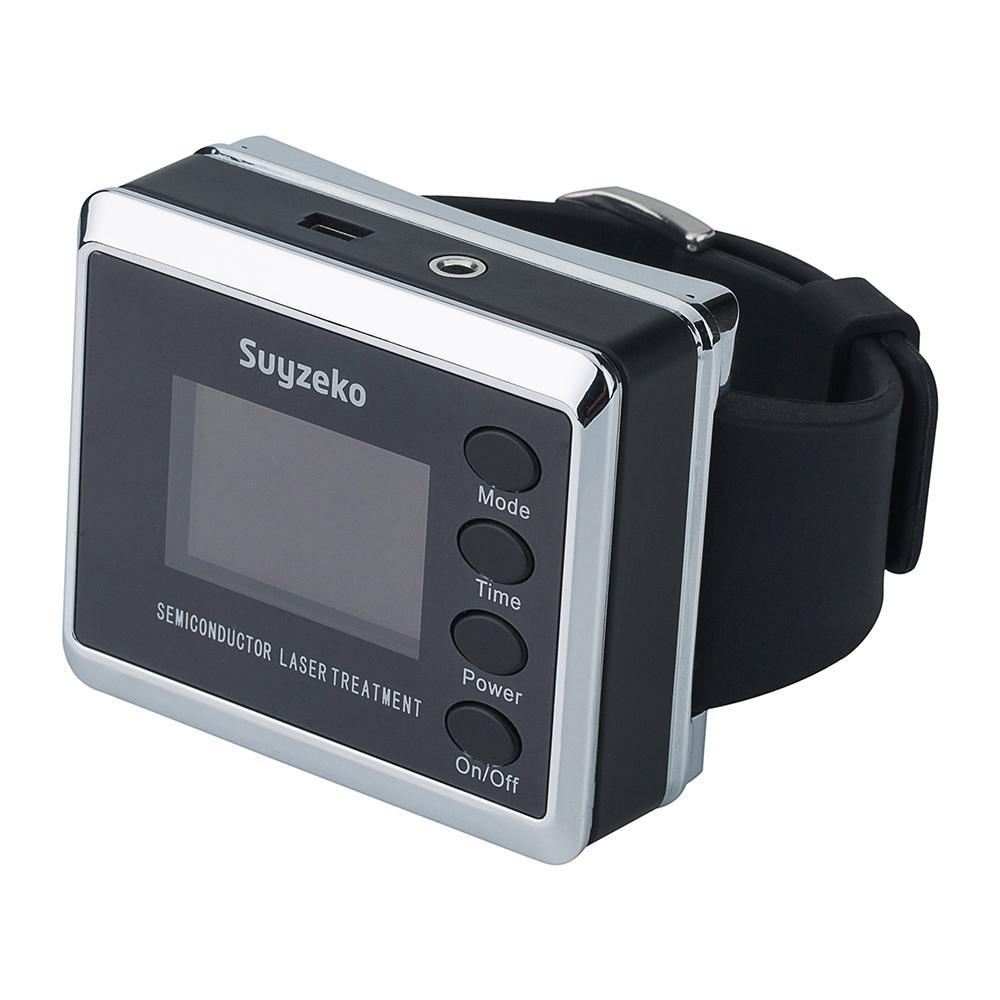 紅色/藍色激光手錶抗糖尿病高血壓腕部激光治療儀 1