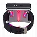 紅色/藍色激光手錶抗糖尿病高血壓腕部激光治療儀 4