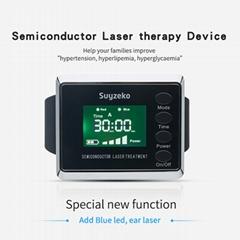 半導體治療激光針灸手錶藍光/紅光療法