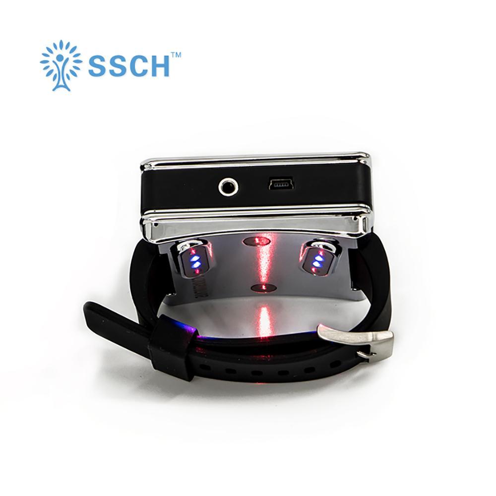 半导体治疗激光针灸手表蓝光/红光疗法 5