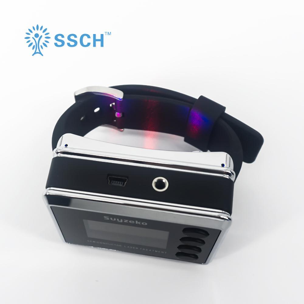 紅色/藍色手錶激光軟激光老年護理設備 2