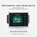 紅色/藍色手錶激光軟激光老年護理設備 4