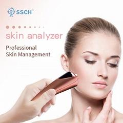皮肤分析仪测试水分/黑头/光滑度