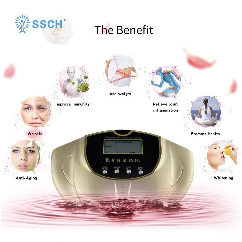 氫氣水療/足部排毒水療機用於沐浴和水療 1