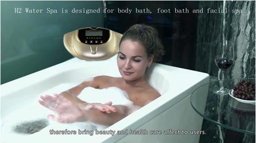 2018 Rich Hydrogen SPA Wash Face Foot Drinking Skin Beauty Detox