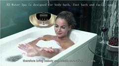 2018便攜式富氫水發生器h2浴室腳排毒沐浴水療機