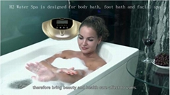 2018 Rich Hydrogen SPA Wash Face Foot Drinking Skin Beauty Detox