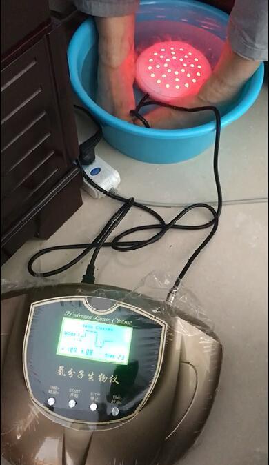 2018便攜式富氫水發生器h2浴室腳排毒沐浴水療機 2