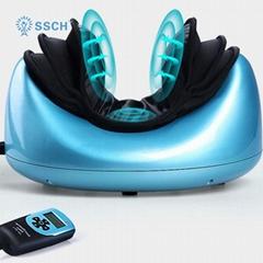 SSCH治疗气压便携式电动个人指压压力激活振动颈部按摩枕
