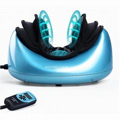 最新振動和熱頸部疼痛按摩器治療頸部按摩枕
