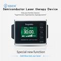 糖尿病治療紅藍色製造手腕低級激光治療手錶 2