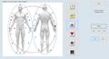 2019年矢量專業8d nls lris生物共振身體健康分析儀 5
