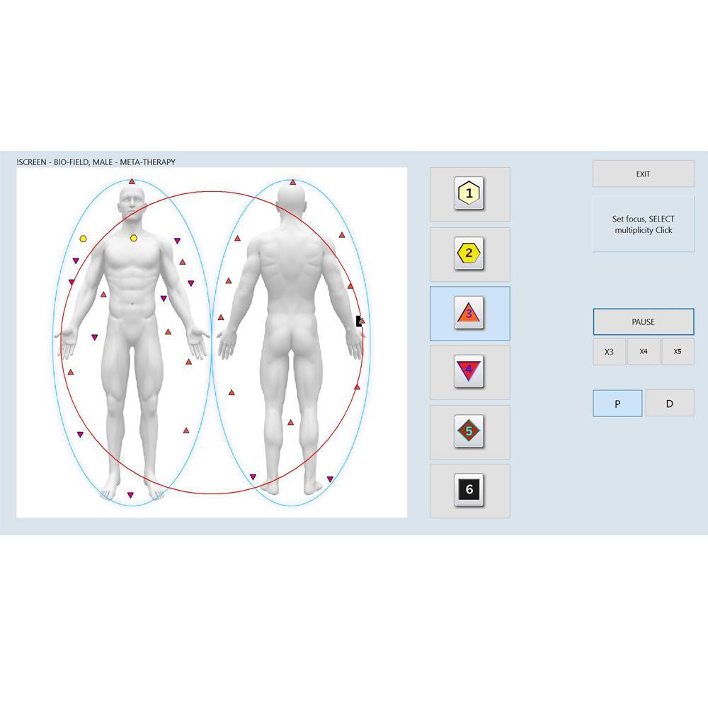 矢量v16 nls生物共振健康诊断分析仪更快更稳定 4